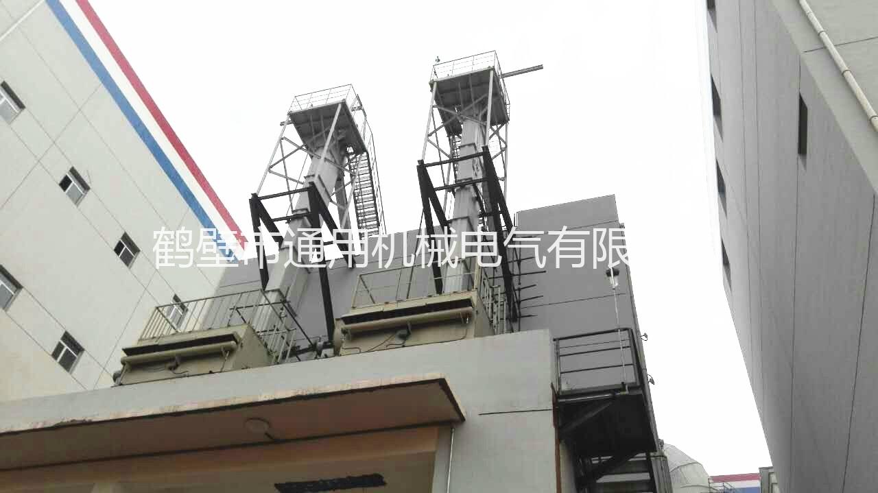 鹤壁通用斗式提升机使用现场
