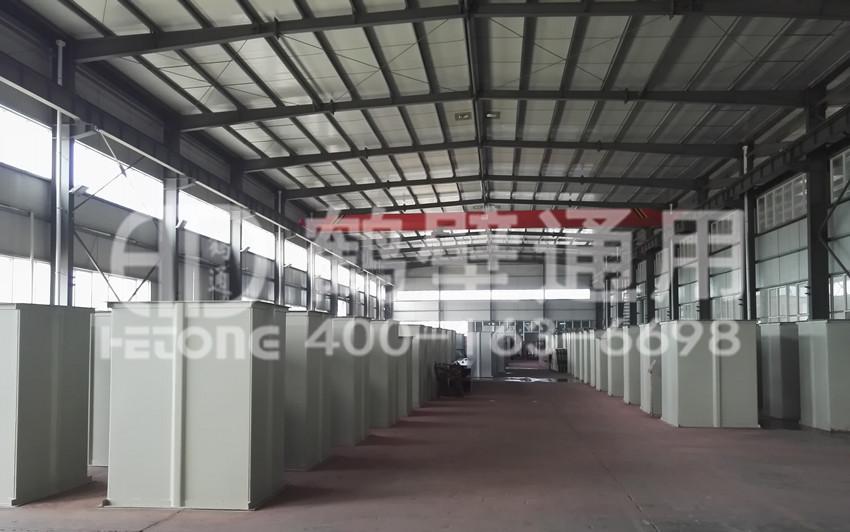 鶴壁通用TGD鋼絲帶斗式提升機車間現場圖片