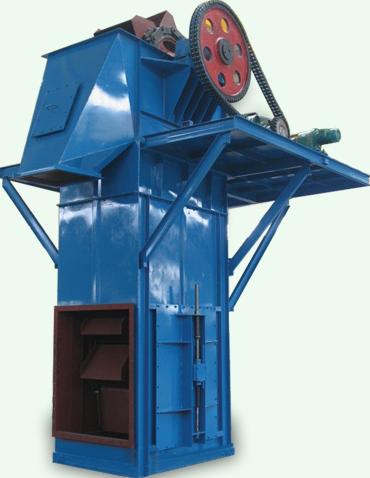 斗式提升机车间现场图—鹤壁通用   行业领军